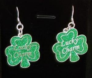 Lucky Charm Earrings – Silver